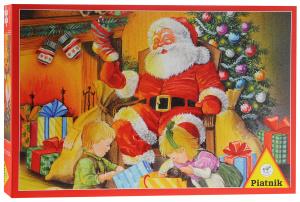 Настольная игра Санта-Клаус, Пазл 1000 элементов