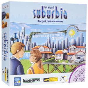 Настольная игра Suburbia. Построй свой мегаполис