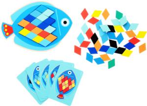 Настольная игра Рыбка. Мозаика