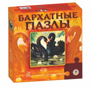 Настольная игра Черные лебеди. Пазл для малышей