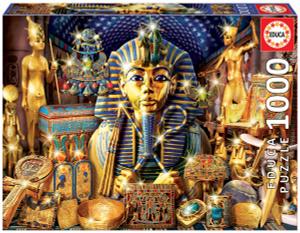 Настольная игра Сокровища Египта. Пазл (1000 деталей)