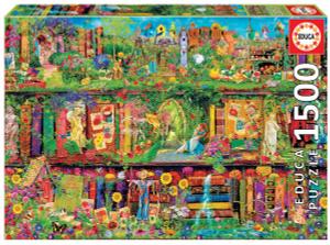 Настольная игра Таинственный сад. Пазл (1500 деталей)