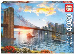 Настольная игра Бруклинский мост. Пазл (4000 деталей)