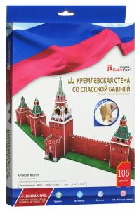 Настольная игра Кремлевская стена со Спасской башней. 3D Пазл