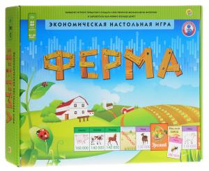 Настольная игра Ферма. Экономическая игра