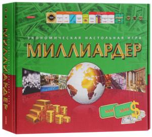 Настольная игра Миллиардер TM Carpe Diem