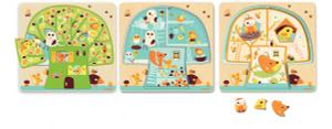 Настольная игра Дом-дерево. Пазл для малышей