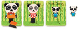 Настольная игра Панда. Пазл для малышей