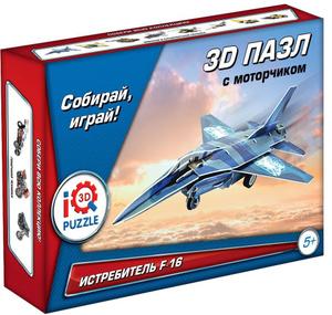 Настольная игра Истребитель F-16. Пазл инерционный