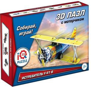 Настольная игра Классический истребитель F41-В. Пазл инерционный