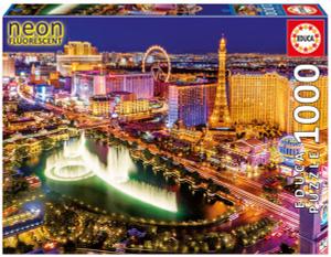 Настольная игра Неоновый Лас-Вегас. Пазл 1000 деталей