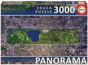 Настольная игра Центральный парк, Нью-Йорк. Пазл-панорама (3000 деталей)