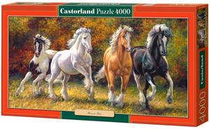 Настольная игра Лошади. Пазл 4000 элементов