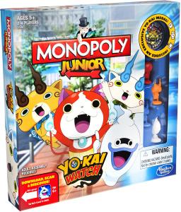 Настольная игра Yo-Kai Watch Junior. Монополия