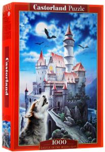 Настольная игра Замок в лунном свете, Пазл 1000 деталей
