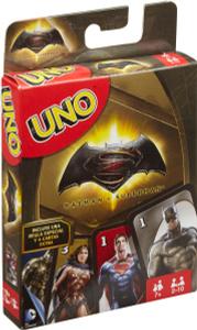 Настольная игра Бэтмен против Супермена Uno