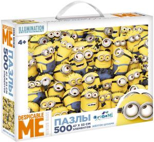 Настольная игра Minions. Жёлтое цунамию. Пазл 500 элементов