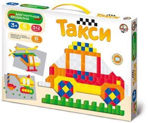Настольная игра Такси. Мозаика магнитная