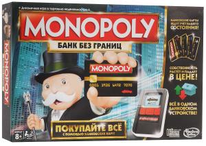 Настольная игра Монополия. Банк без границ