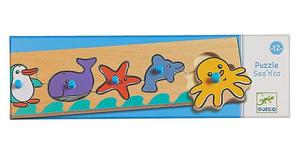 Настольная игра Море. Пазл для малышей