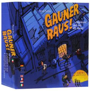 Настольная игра Охота на преступников (Gauner raus)