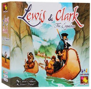 Настольная игра Льюис и Кларк (Lewis and Clark)
