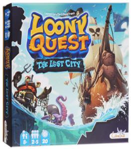 Настольная игра Луни Квест: Затерянный город (Loony Quest: The Lost City, дополнение)