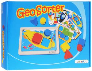 Настольная игра ГеоСортер. Обучающая игра