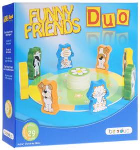 Настольная игра Веселые друзья Дуо