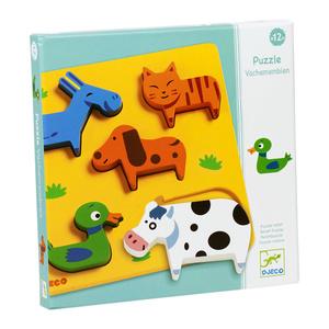 Настольная игра Домашние животные. Пазл для малышей