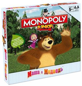 Настольная игра Маша и Медведь. Монополия