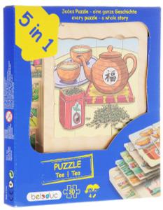 Настольная игра Чай. Пазл для малышей 5 в 1