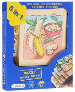 Настольная игра Банан. Пазл для малышей 5 в 1