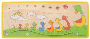 Настольная игра Утиная семейка. Пазл для малышей