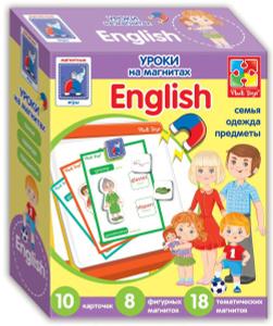 Настольная игра English Семья. Обучающая игра