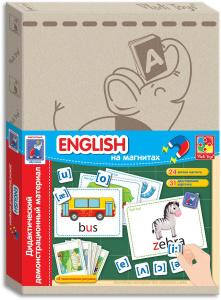 Настольная игра English. Обучающая игра