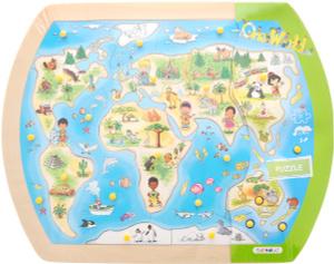 Настольная игра Один большой мир. Пазл для малышей 10151