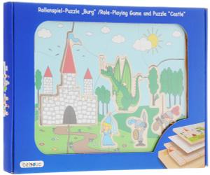 Настольная игра Замок. Пазл для малышей