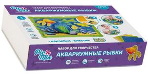 Настольная игра Аквариумные рыбки. Обучающая игра
