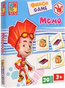 Настольная игра Фиксики Мемо