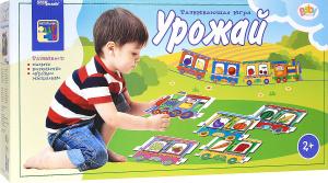 Настольная игра Урожай. Пазл для малыша Паровозики
