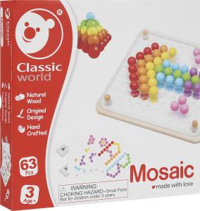 Настольная игра Волшебные шарики. Мозаика-конструктор