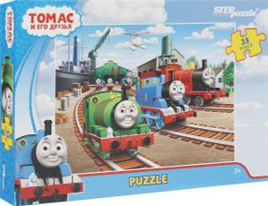 Настольная игра Томас и его друзья. Пазл 35 элементов (maxi)