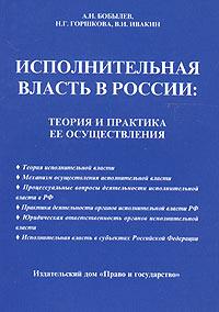 Исполнительная власть в России: теория и практика ее осуществления