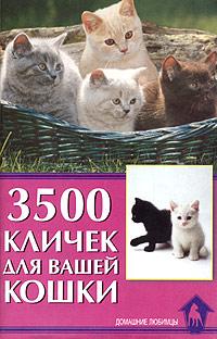 3500 кличек для вашей кошки ( 978-5-98435-892-7, 5-98435-125-0 )