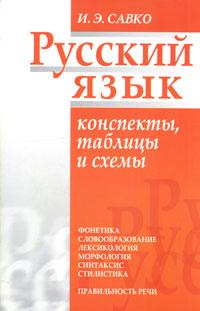 Русский язык. Конспекты, таблицы и схемы