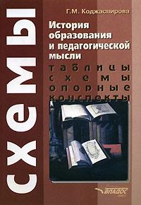 История образования и педагогической мысли. Таблицы, схемы, опорные конспекты ( 5-305-00055-6 )