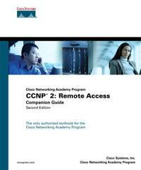 CCNP 2: Remote Access Companion Guide (Cisco Networking Academy Program) (2nd Edition) (Cisco Networking Academy Program)