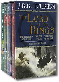 J.R.R. Tolkien Boxed Set (набор из 4-х книг)