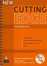 New Cutting Edge Intermediate: Teacher's Book (+ CD-ROM)
